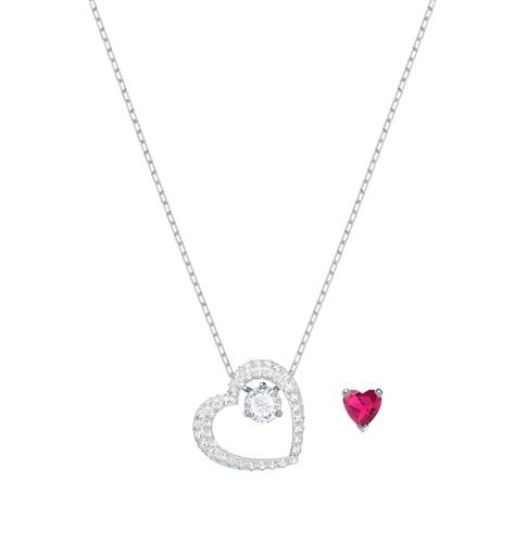 Wonderbaarlijk Love hartje pendant zilver Swarovski - Au Goût Exclusif ZE-12